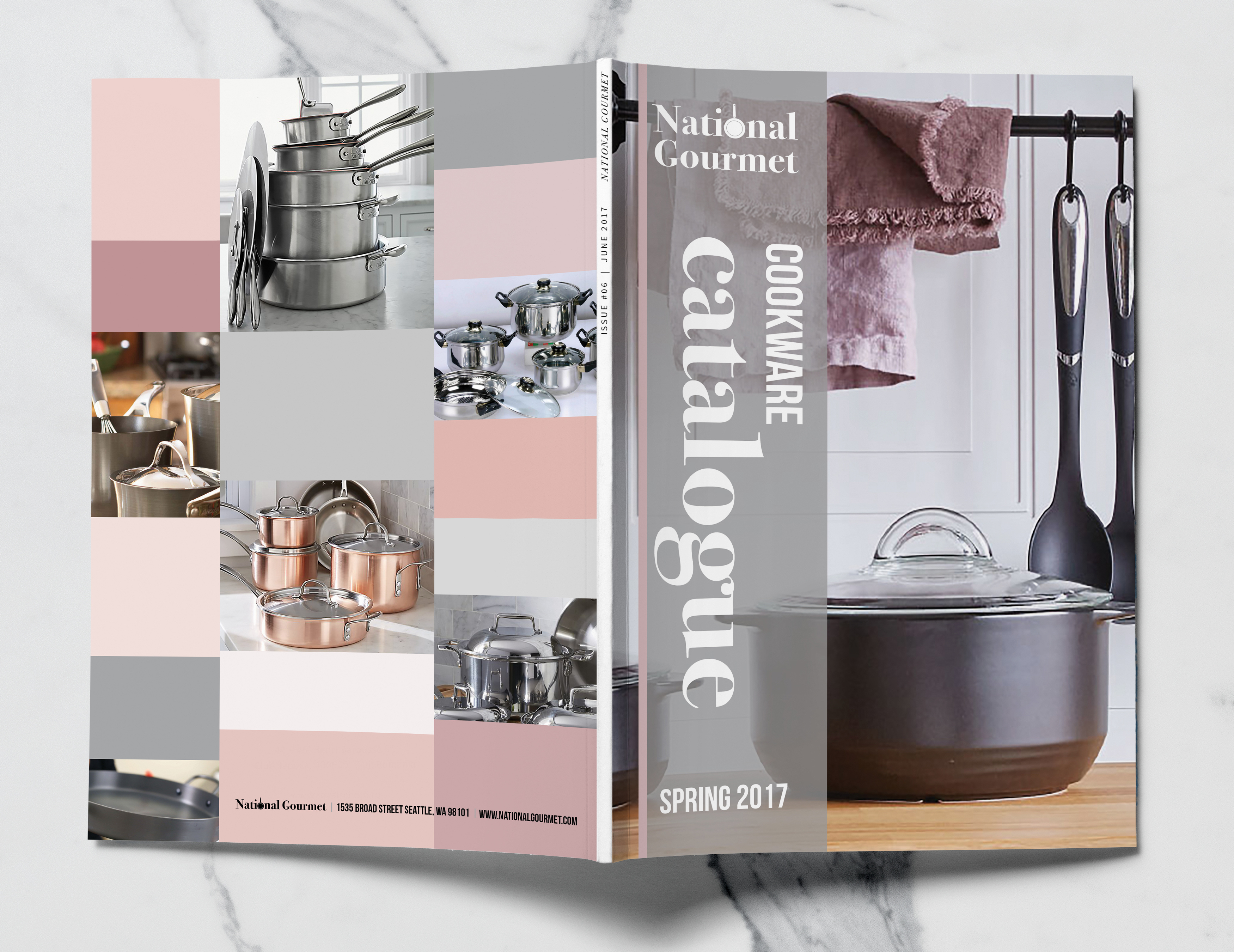 Editorial Design – National Gourmet Cookware Catalogue